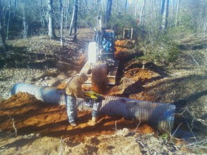 Culvert and Road Installation
